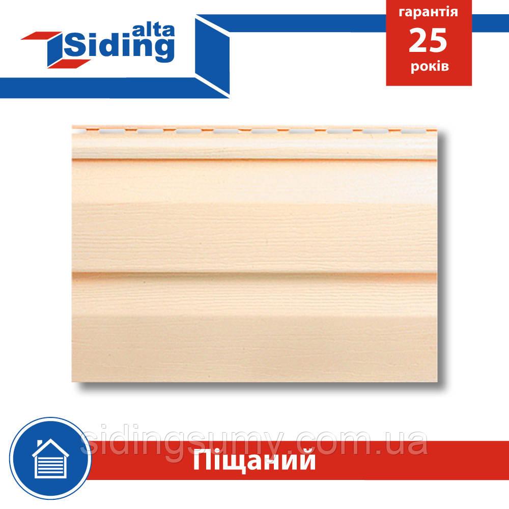 Сайдинг виниловый Альта-Профиль Alta-Siding двухпереломный 3660х230х1,1 мм песочный