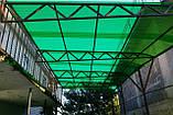 Гофрированный поликарбонат 1.05х6метров BORREX Зеленый, фото 2