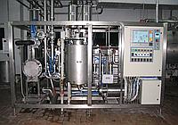 Универсальные пластинчато-трубчатые  пастеризационно-охладительные установки  УПТ