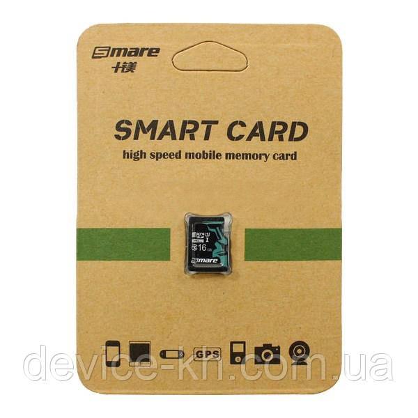 Карта памяти Smare RX MicroSD 16GB Class 6 Original
