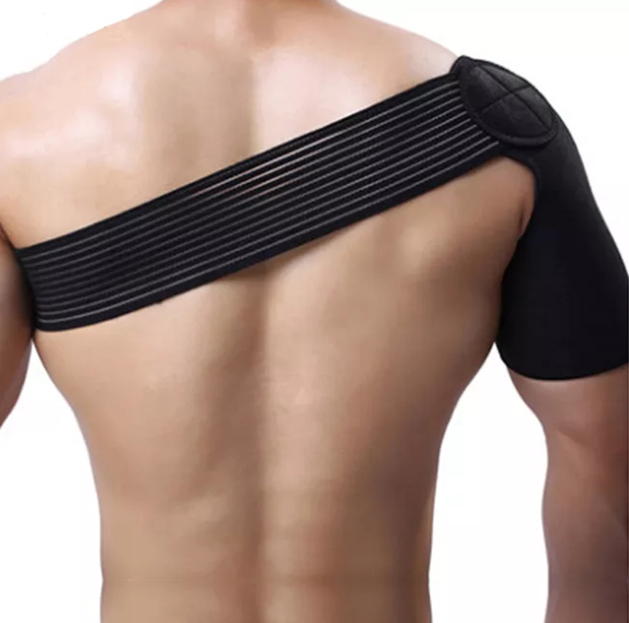 Универсальная неопреновая защита бандаж плечевого сустава с регулированием на липучке «Elastic Sport»
