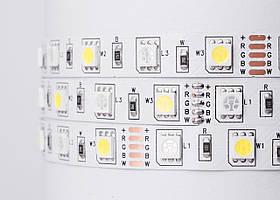 LED лента Milight SMD5050 RGB+W 60шт/м, IP20, 12V