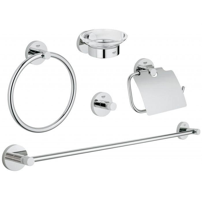 Grohe Essentials набор аксесуаров 5 в 1 арт.40344001