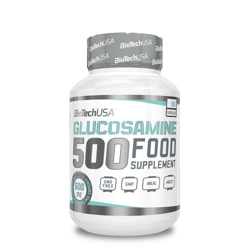 Для суставов Glucosamine 500 (60 капс.) BioTech USA