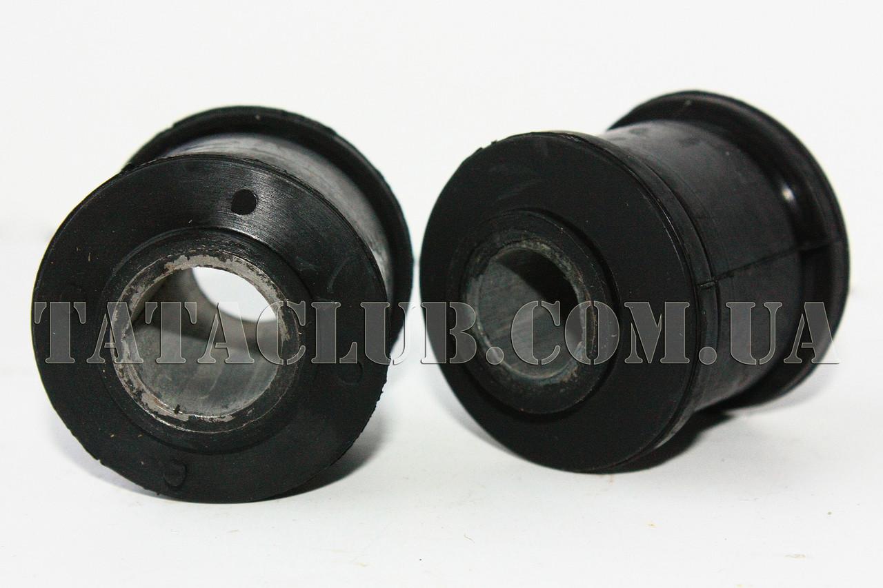 Втулка амортизатора переднего резиновая + металлическая /комплект 2 шт/ Украина