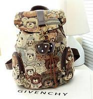 Рюкзак женский, для девочек, девушек Мишка Тедди,Teddy Bear.