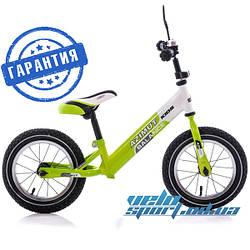 Детский велобалансир (беговел, велобег) Azimut Balance Bike 12