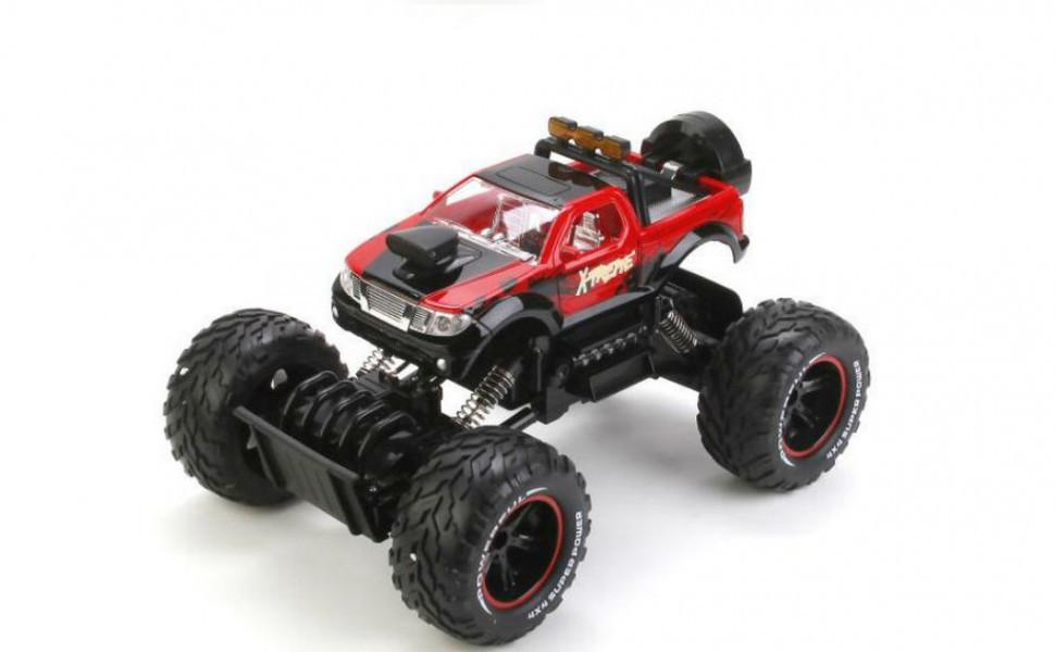 Детская игрушка на радиоуправлении Джип 689-356 (Красный)