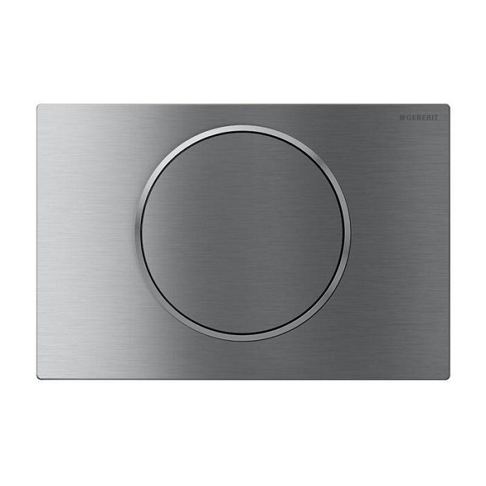 Geberit Sigma 10 Смывная клавиша смыв/стоп, матовая / полированная / матовая нержавеющая сталь арт.115.758.SN.5