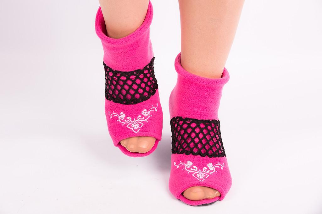 Тапочки - носочки Узор. Размер 18 - 45. Разные цвета