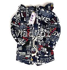 Детская теплая парка куртка для девочки для мальчика на подкладке 5-6 лет