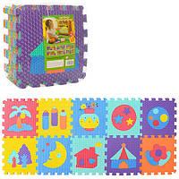 Детский Развивающий Коврик Мозаика M3518
