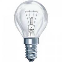 """Лампа накаливания  """"шарик""""  220 вольт ДШ 40 Вт Е 14"""