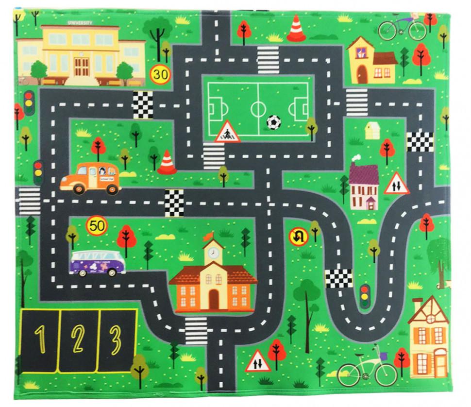 Детский РАЗВИВАЮЩИЙ Игровой коврик 876 (Осень)