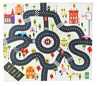Детский РАЗВИВАЮЩИЙ Игровой коврик 876 (Зима)