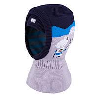 Шапка-шлем для мальчика TuTu 134 арт. 3-004198 (44-48,48-52), фото 1