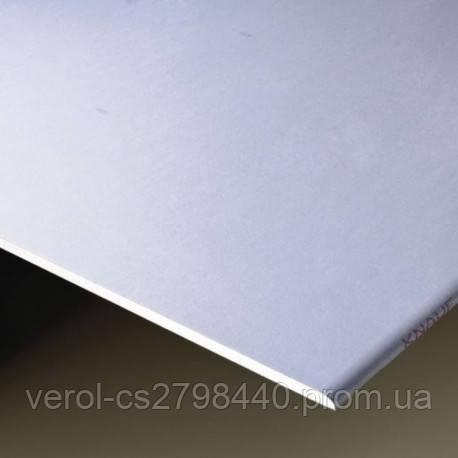 Гипсокартон стеновой  12.5 мм Knauf (Кнауф) - 2 метра