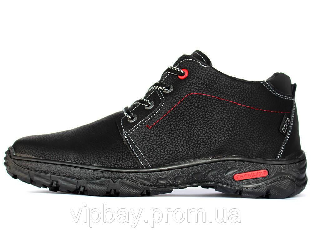 Черевики чоловічі черевики на хутрі Львівська фабрика (ПБ-78чр)