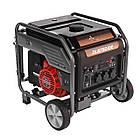 Генератор бензиновый инверторный 7,5 кВт Weekender DL8750iOE, фото 2