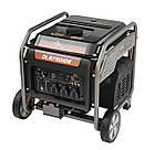 Генератор бензиновый инверторный 7,5 кВт Weekender DL8750iOE, фото 3