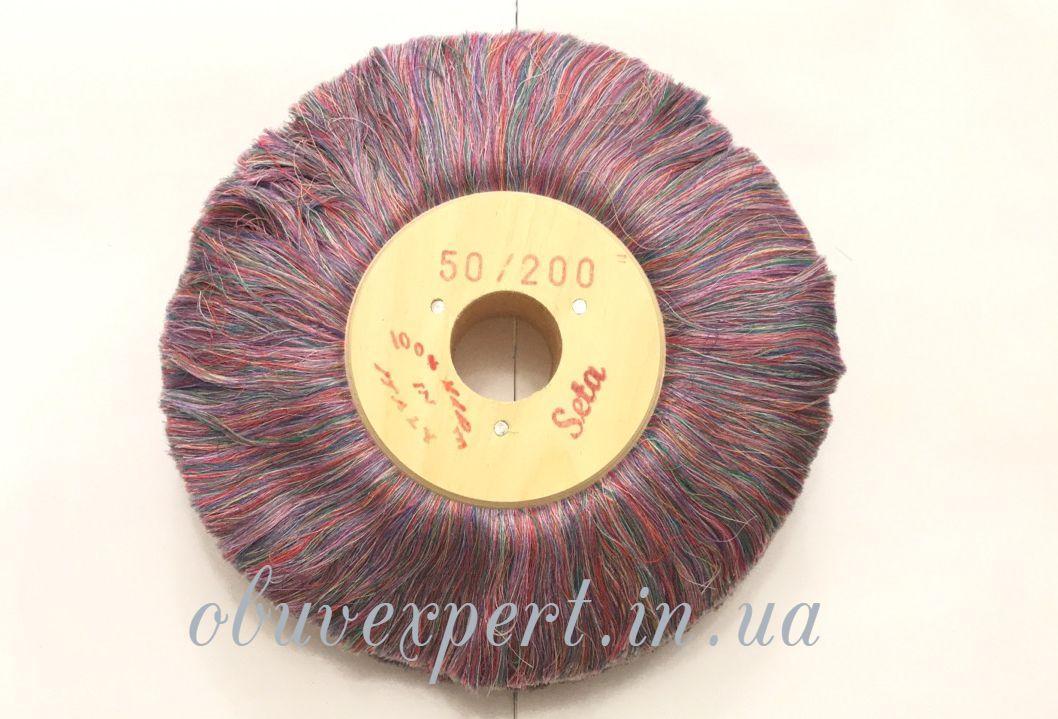 Щетка полировочная шелковая Colored Silk 50*200