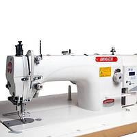 Bruce BRC-6380B-12 одноигольная швейная машина с шагающей лапкой и прямым приводом