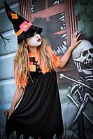 Детский Карнавальный костюм Ведьмочка, фото 1
