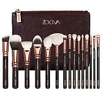 Набор кистей для макияжа Zoeva реплика 15 штук