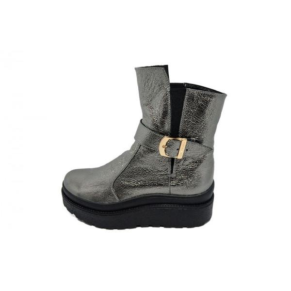 Ботинки зимние кожаные Dino Richi 241-1 Bronze