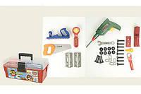 Игровой набор для мальчика Набор инструментов 2059 в чемодане 31-16-13 см, 33 детали