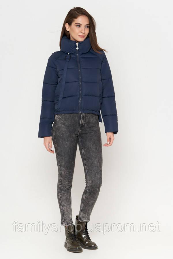 Короткая женская куртка весна-осень