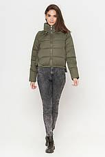 Короткая женская куртка весна-осень, фото 2