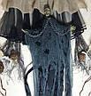 Баба-яга с цепями с криком и движущимися руками Halloween Разные Цвета 95 см, фото 2