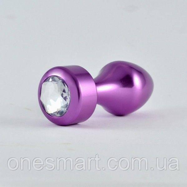 Анальная пробка фиолетового цвета