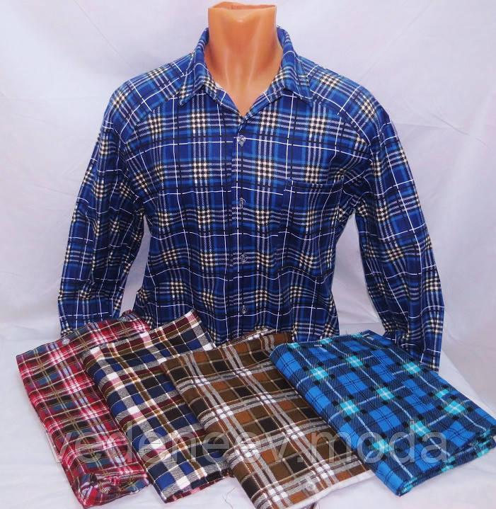 Пошив теплых рубашек в клеточку
