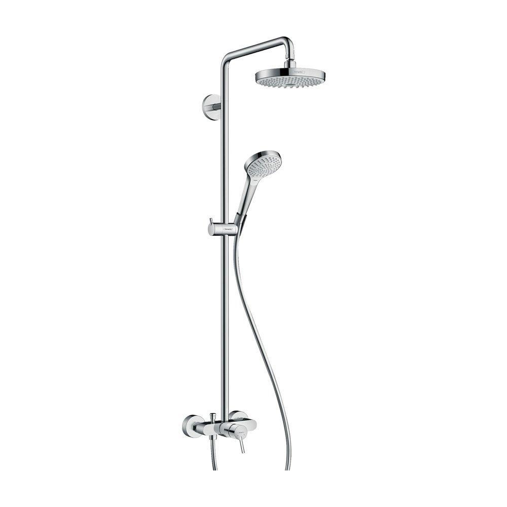 Hansgrohe Душевая система Croмa Select S 180 2jet Showerpipe арт.27255400