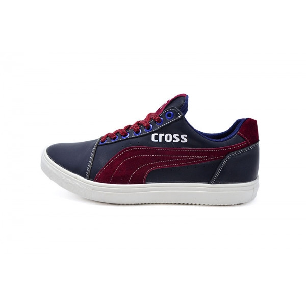 Кеды SAV Cross Fit 120 GZ 99505 Blue Red