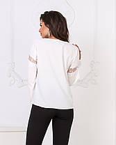 Блузка кружево в расцветках 04р15116, фото 2