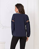 Блузка кружево в расцветках 04р15116, фото 3