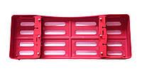 Кассета пластиковая для автоклавирования инструмента, на 5 инструментов