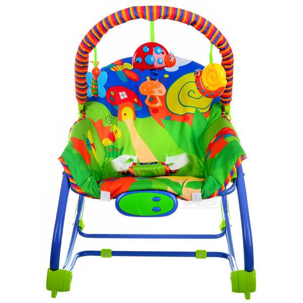 Кресло-качалка Grassland (зеленое) фирми Kindereo