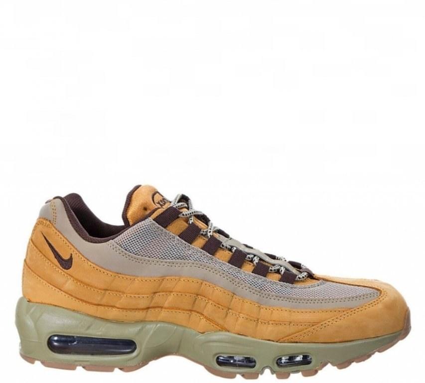 2285ee16 Кроссовки мужские Nike Air Max 95 PRM Wheat/Cream (в стиле найк аир макс 95)