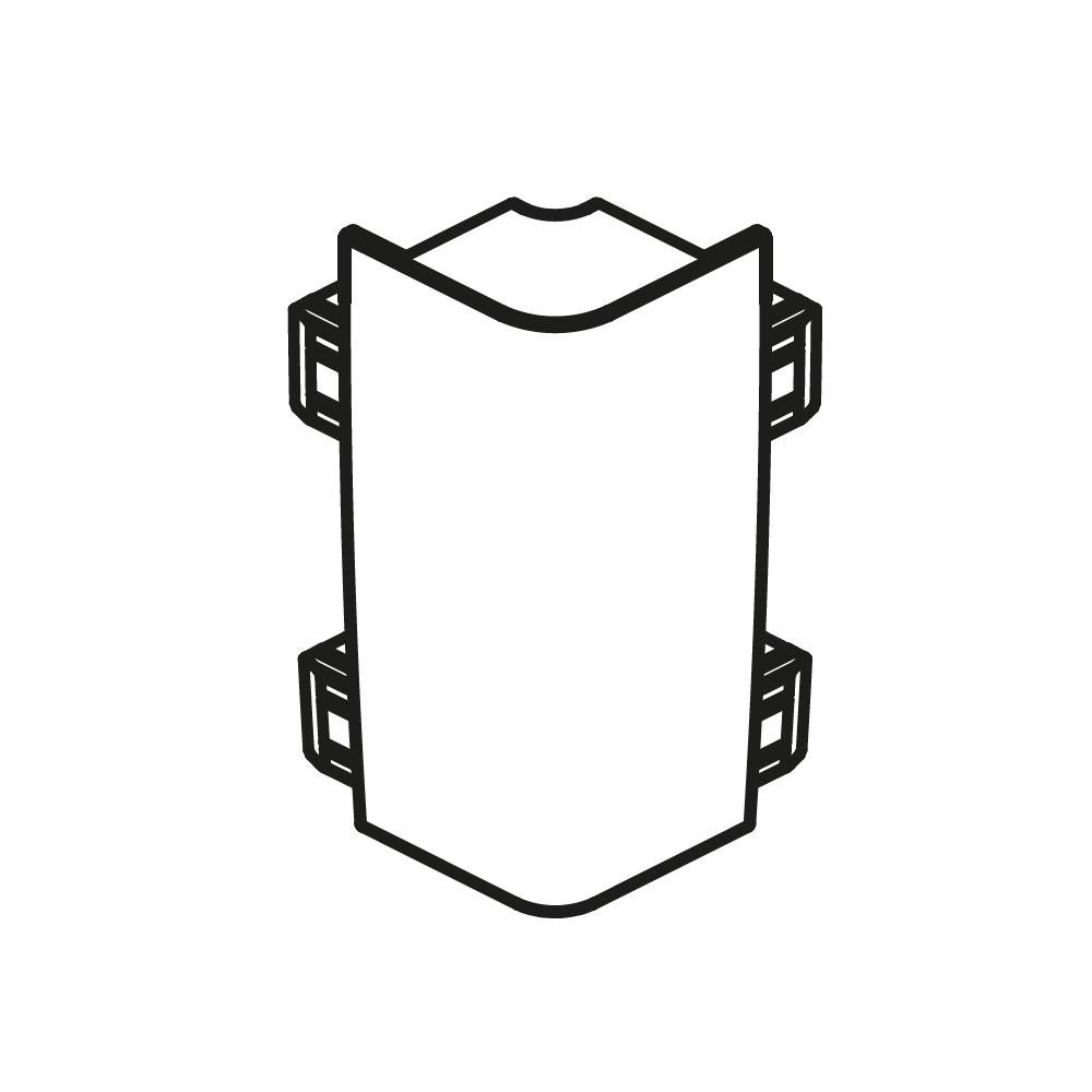 Radaway Стыковочный уголок панели Цвет хром арт. 003-019000301