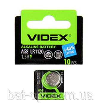 Батарейка часовая Videx G8 LR1120 Alkaline таблетка