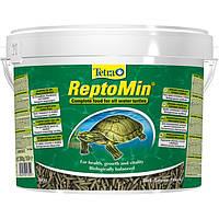 Корм Tetra ReptoMin для водных черепах в виде палочек 10л/2.5кг