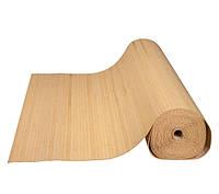 Бамбуковые обои светлые, п.12 мм, ширина рулона 90 см (3,10 м.п.)