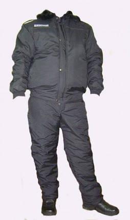 Костюм охранника зимний на резинке, фото 2