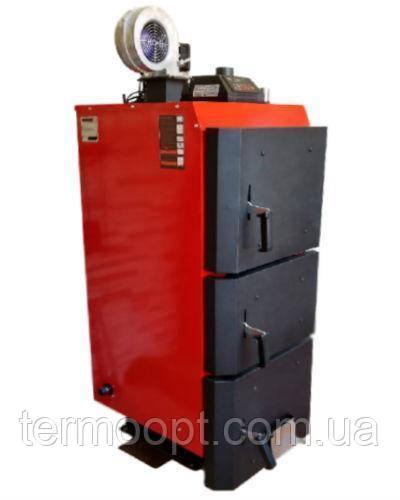 Твердотопливный котел длительного горения Kraft-L  40 кВт сталь 6мм