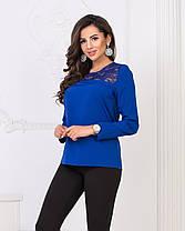 Блузка кружево в расцветках  04д4156, фото 2
