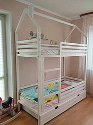 Детская кроватка двухэтажная S